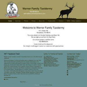 Werner Family Taxidermy